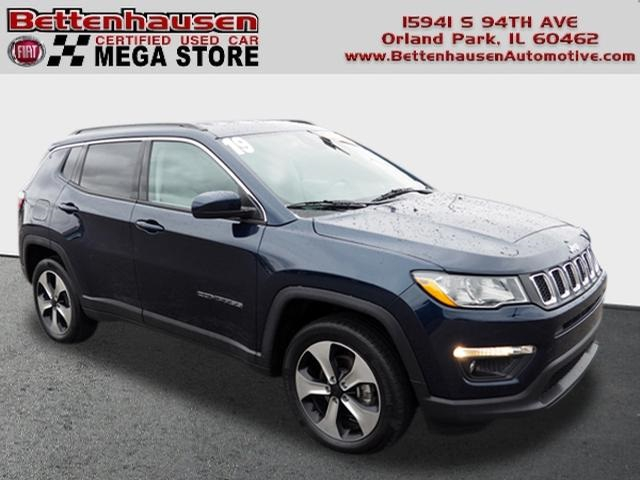 Certified Pre-Owned 2019 Jeep Compass Latitude 4WD