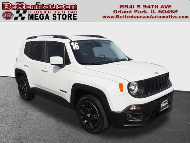 Certified Pre-Owned 2016 Jeep Renegade Latitude