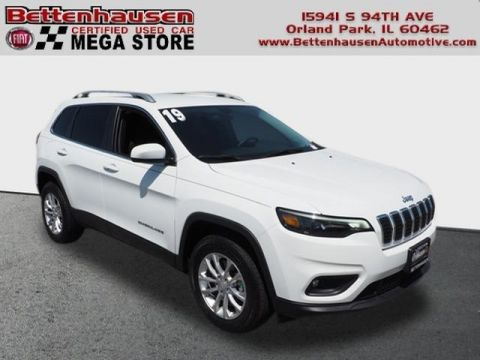 Certified Pre-Owned 2019 Jeep Cherokee Latitude